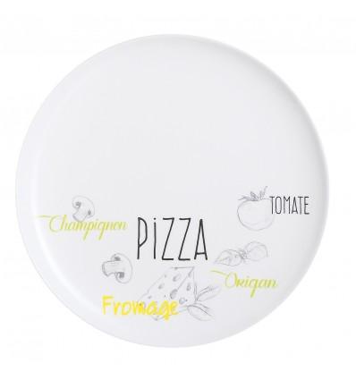 Plato pizza Luminarc